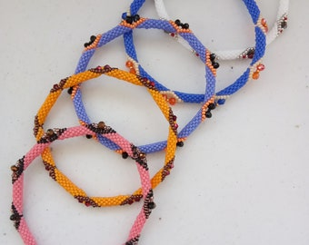Summer one color bangle