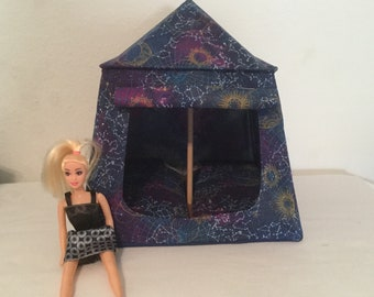 "Constellation Camping Tent for Barbie/11-1/2"" dolls"