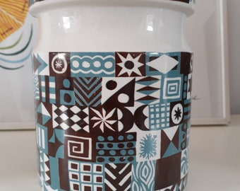 Large, Rare Tivoli Pattern PORTMEIRION Storage Jar. Susan Williams-Ellis Design