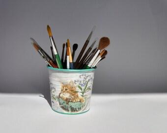 Cache pot planteur décor à la maison pot de fleur en métal cache-pot floral le stockage pot de fleur récipient de jardin shabby chic