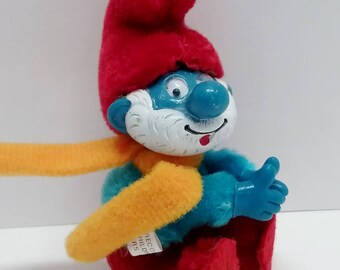 TOY- Papa Smurf Clip On