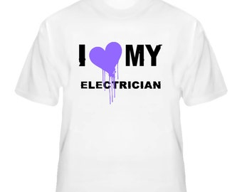 Electrician  I Heart My Occupation T Shirts