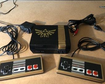 NES Mini Custom Zelda Theme Video Console Entertainment Nintendo 500 Classic Games