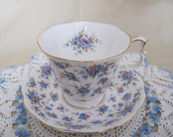 ROYAL ALBERT Bone China Teacup and Saucer - Nell Gwynne - Covent Garden