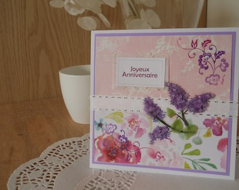 Single card - happy birthday - 10017