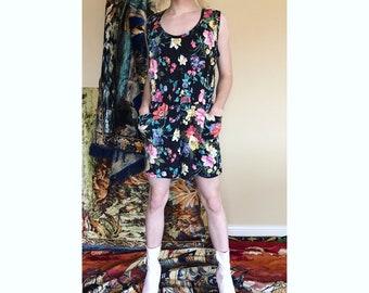 80s/90s floral romper