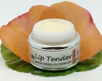 Lip Tender 2, Best Lip Balm, Lip gloss, Dry Lips, Chapped Lips, Organic Lip Balm, Natural Skincare,  Lanolin, Mango, Shea, Rose  & Jasmine