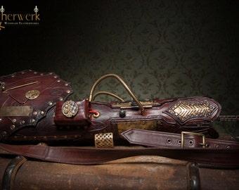 Steampunk  Armcannon / Bracer