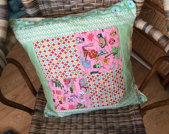 Pretty quilted cushion
