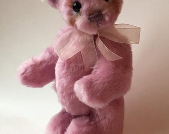 Mohair Artist Bear: Spring Blossom by Chicago Bear Co.