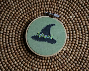 Witch's Hat Embroidery