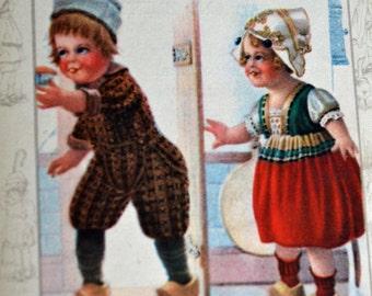 Book Prints Art for Nursery Decor Childs Room Decor Holland Kiddies