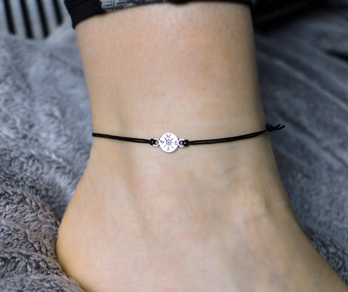foliage tpnv gift ankle body beauty il listing jewelry anklet bangle