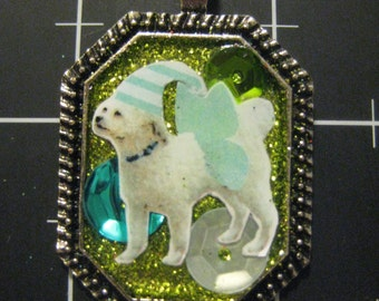 """100% Donation Item: Flutterdoodle, Celebrate Your Poodle Mix with this """"Doodle"""" Dog, All proceeds go to the current selected animal charity"""
