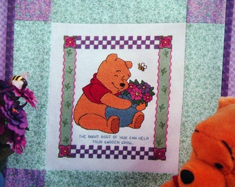 P Is For Pooh By Leisure Arts Cross Stitch Pattern Booklet 1999