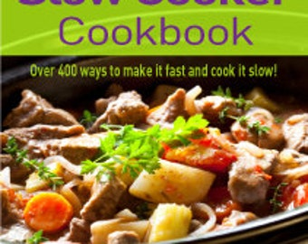 Slow Cooker Cookbook, Crock Pot Cookbook, Cookbook recipes, Cook book, Soup Cook Book,  Casserole