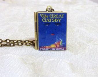 The Great Gatsby Story Locket