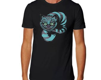 Grinning like a Cheshire Cat T-shirt - Cheshire Cat T-shirt - Alice T-shirt - Wonderland T-shirt - Alice in Wonderland T-shirt - Cat T-shirt