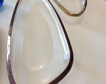 Amoeba Glass Tray