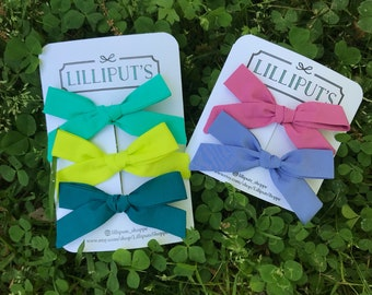 Skinny fabric hairbow bundle deal