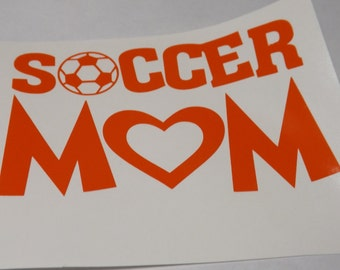 Soccer Mom Decal, window decal,laptop,mug decal,Yeti decal, personalize decal