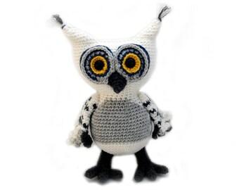 Crochet pattern Owl - amigurumi - instant download pdf