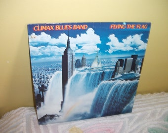 Climax Blues Band Flying the Flag Vinyl Record Album NEAR MINT condition