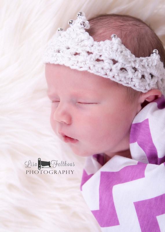 Häkeln Sie Baby Krone ersten Geburtstag Prinzessin Krone