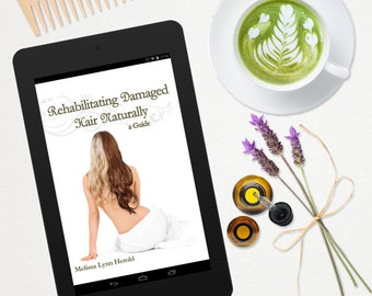 Rehabilitating Damaged Hair Naturally: A Guide e-Book
