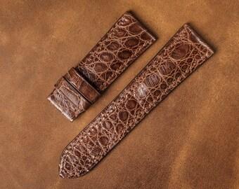 Leather Watch Strap | Crocodile Leather | Brusnitcyn Atelier