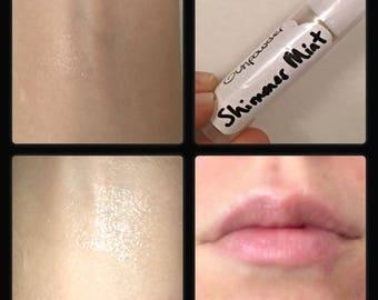Shimmer Mint  Moisturizing Lip Balm