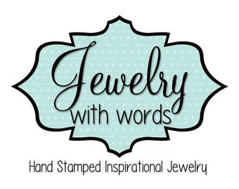 Add on Crystals, Charms or Stamped Metal