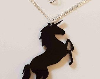 Mystical Unicorn Necklace - Acrylic