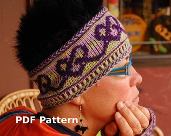 Headband Pattern - PDF knitting tutorial