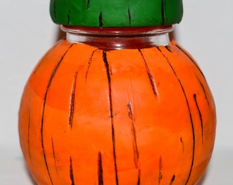 Pumpkin Potion Bottle