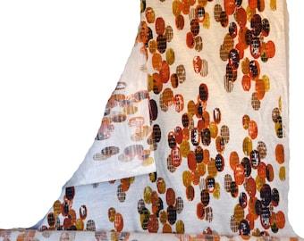Mid Century Modern Fabric 50s 60s Roll of Fabric