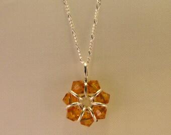 November Birthstone Necklace