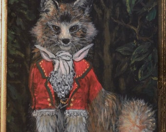 Sir Ryenard the Fox print