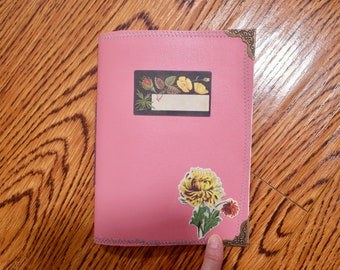 Pink Vinyl Cover Mini Journal Kit