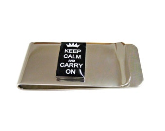 Keep Calm and Carry On Money Clip