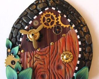 Steampunk Fairy Door Pixie Portal