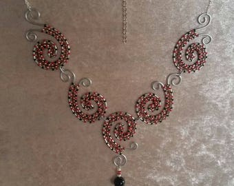 """Necklace """"Steel"""" - Gothic Collection"""