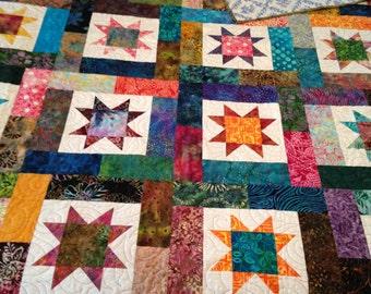 Lucky Stars quilt