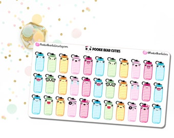 Kawaii Hydrate Stickers!-0162