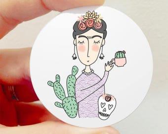 Broche «Frida Kahlo»