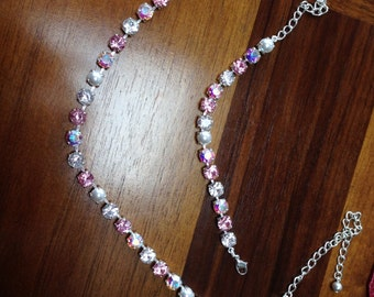 "Swarovski crystal necklace ""Princess"""
