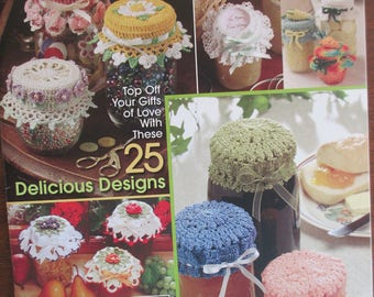 Pattern Crochet Jar Dollies Pattern Booklet by Annie's Attic used