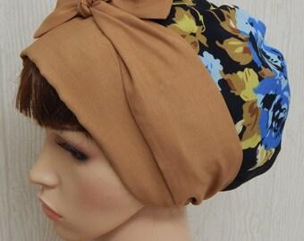 Women's head scarf, summer head covering, sleeping head wear, alopecia hair loss bonnet cap, hair wrap