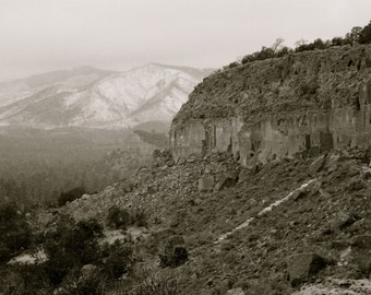 Cliff Dwellings Photograph