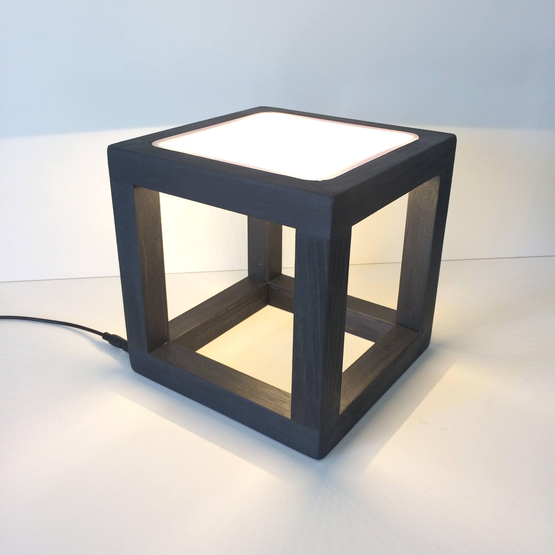 Modern Table Lamp, Modern Desk Lamp, Minimalist Lamp, Modern Decor, Office  Furnishings, Led Lamp, Cube Lamp, Contemporary Lamp, Wedding Gift